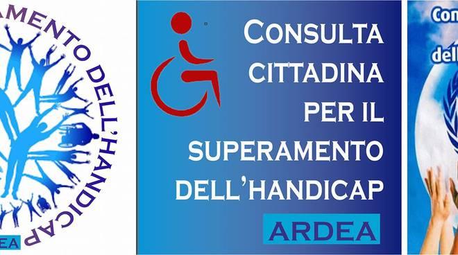 Logo consulta cittadina superamento disabilità Ardea