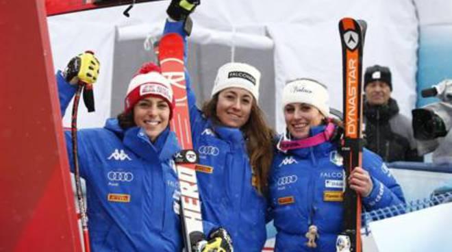 Sci, Federica Brignone vince nel Super Gigante a Bad Kleinkirchheim