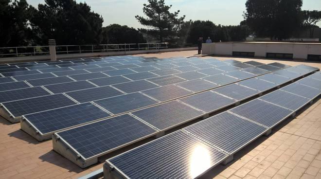 pannelli fotovoltaici scuola pomezia