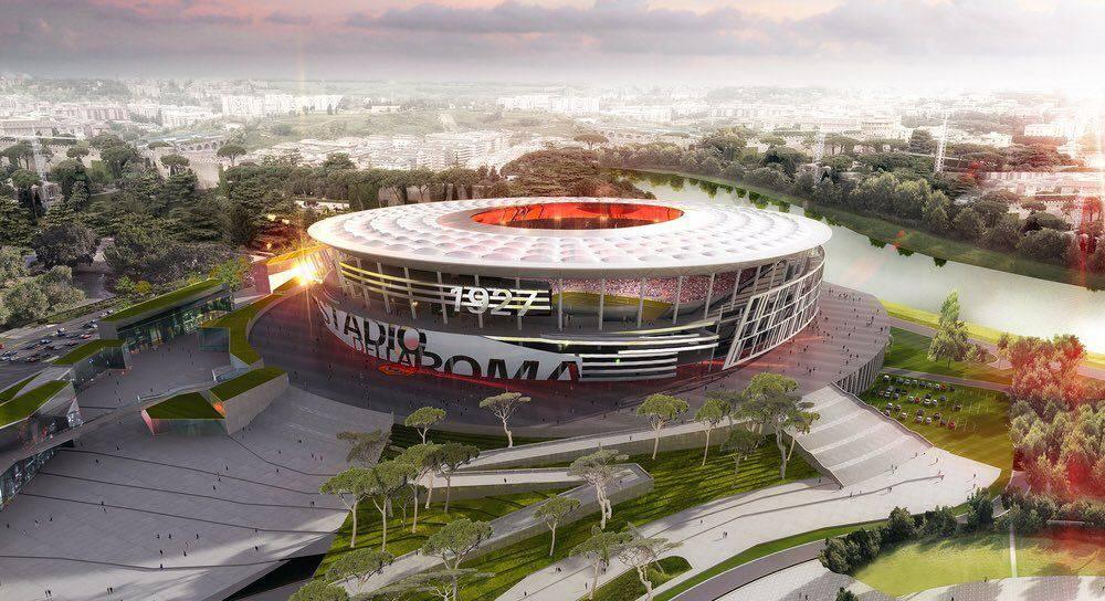 progetto Stadio della Roma Regione Lazio