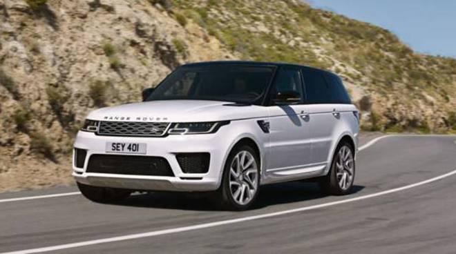 range rover sport - auto rubate a Fondi