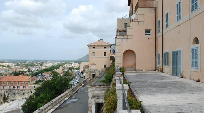 Terracina palazzo bonificazioni pontine