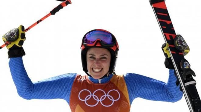 Giochi di PyeongChang, quarta medaglia per l'Italia: Brignone, bronzo nel 'gigante'