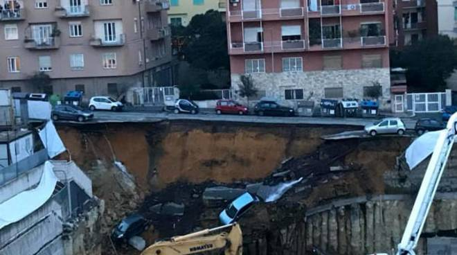 crolla strada roma balduina