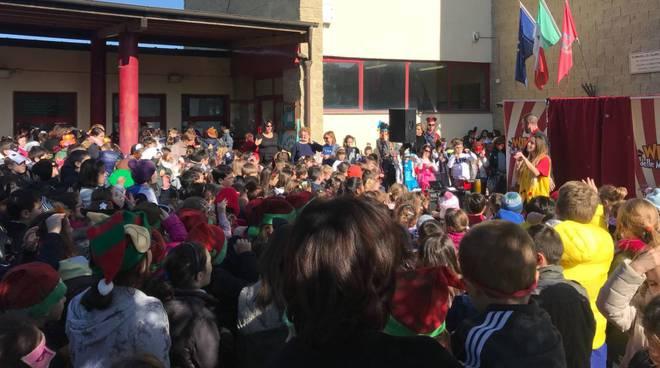 Fiumicino Carnevale nelle scuole