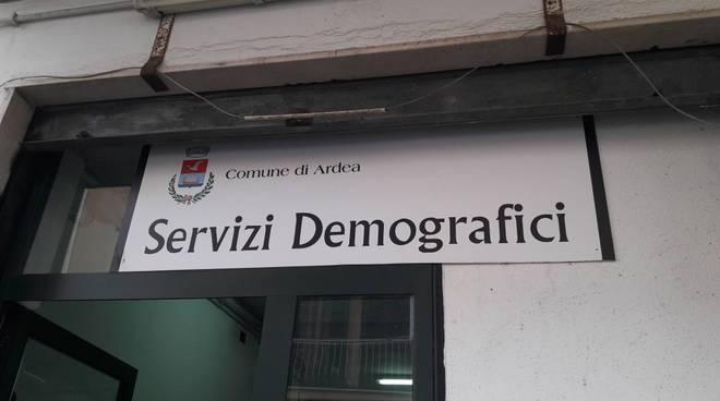 Servizi demografici Ardea 1