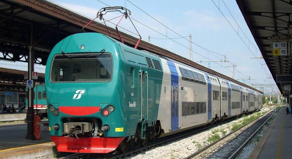 Treno - protesta pendolari