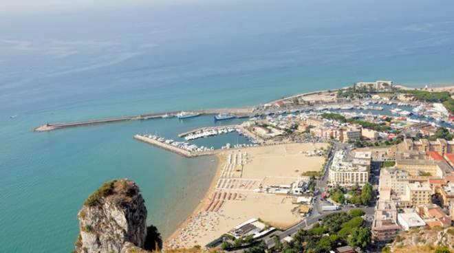 Veduta panoramica di Terracina