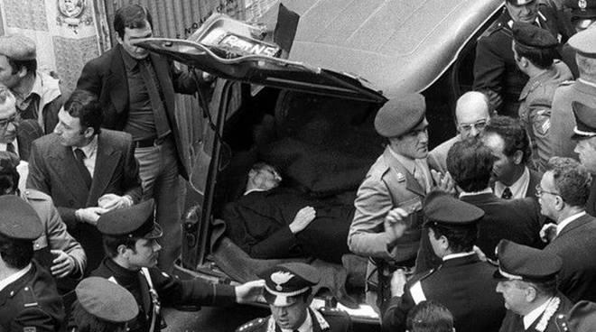 Aldo Moro, foto di Maurizio Piccirilli