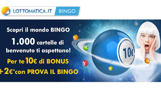 bonus bingo Lottomatica