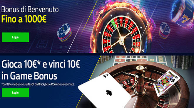 bonus Casinò William Hill