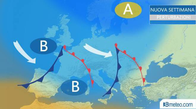 Previsioni Meteo del Pomeriggio di Mercoledì 7 Marzo 208