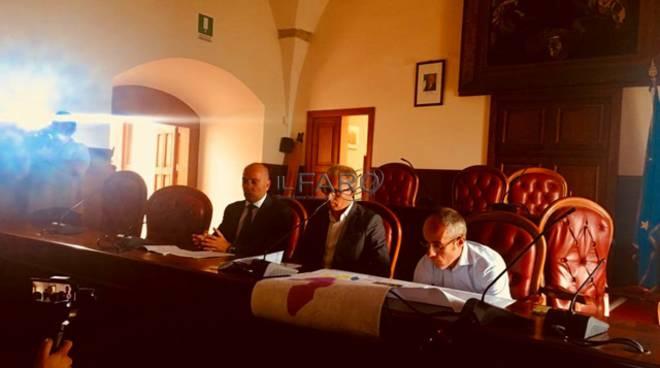 Conferenza stampa a Minturno sul risanamento delle reti