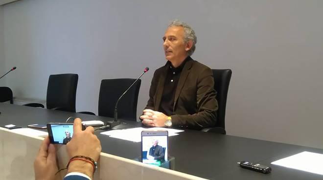 Provinciali a Latina, Coletta in conferenza stampa