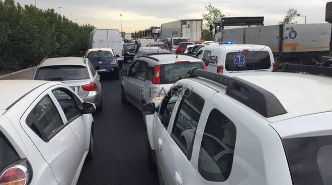 Traffico Roma Fiumicino