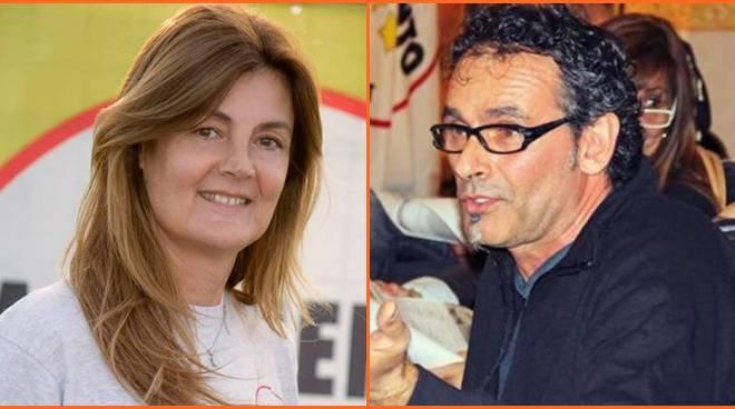 Fiumicino candidata Velli - Viterbo candidato Erbetti