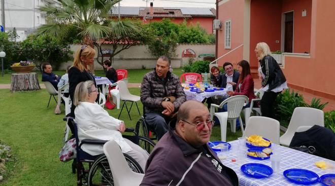 Fiumicino festa di primavera casa di Daniele