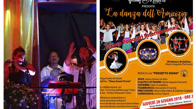 La Danza dell'Amicizia Danze popolari internazionali