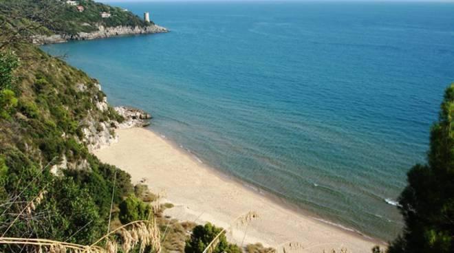 Gaeta, spiaggia dell'Arenauta