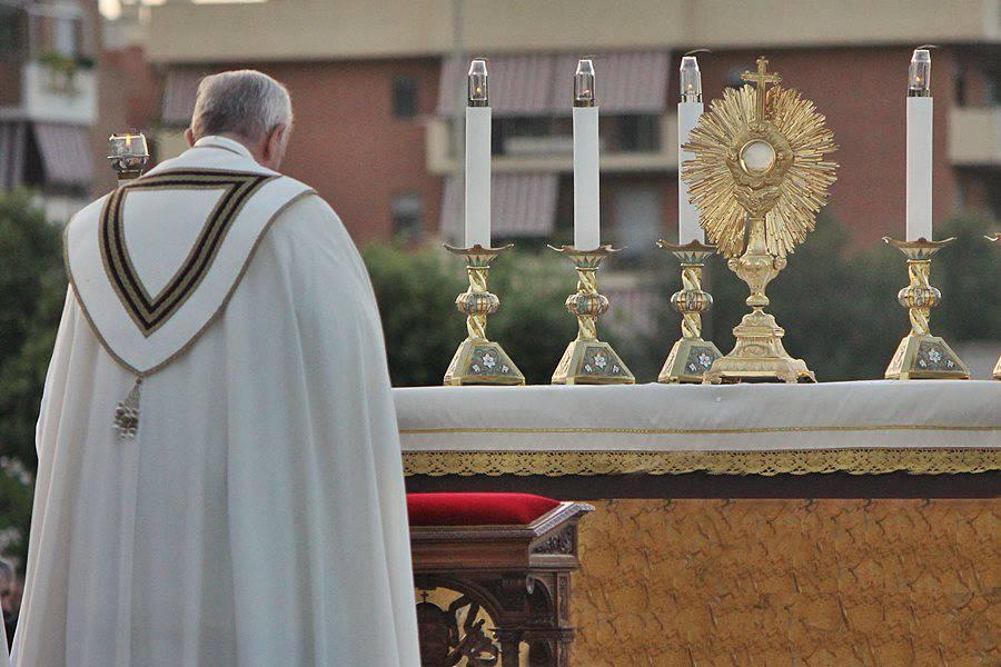 Papa Francesco a Ostia