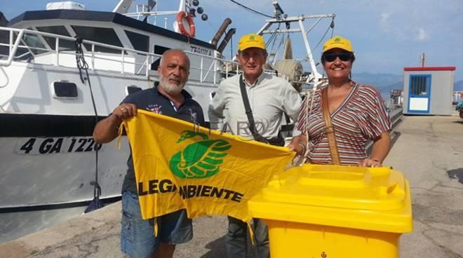 """Terracina e il progetto """"Fishing for litter"""""""