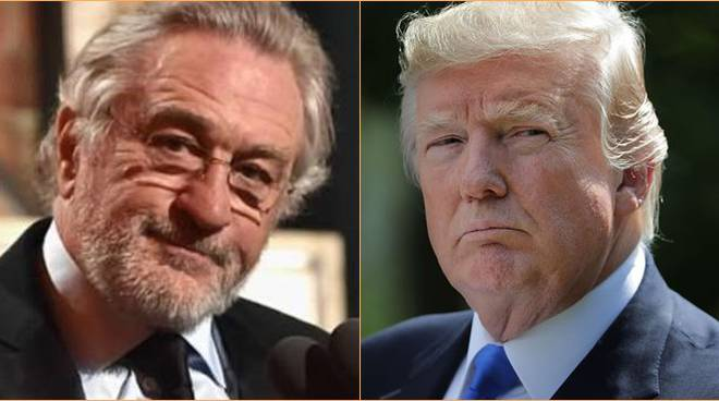 trump vs de niro