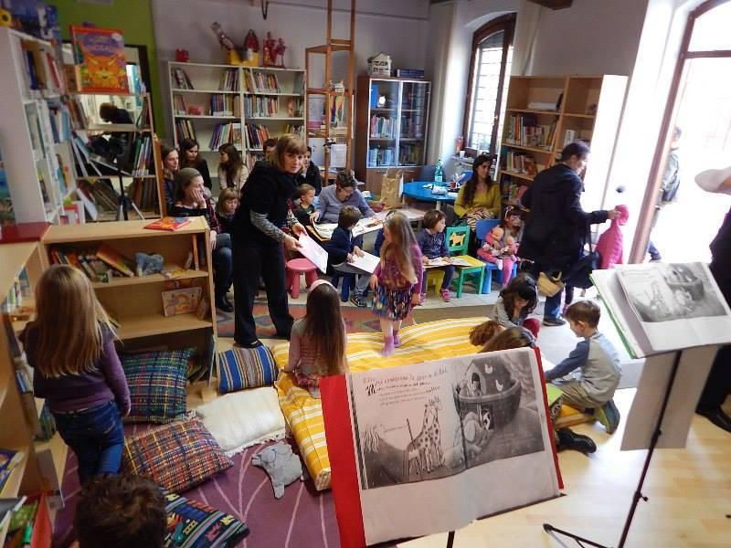 biblioteca dei piccoli