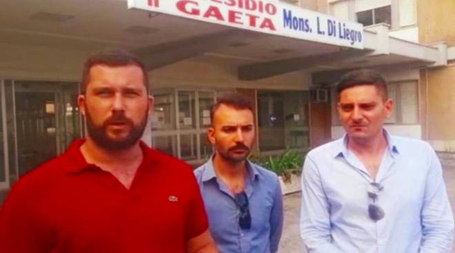 CasaPound sud pontino: Mauro Pecchia, Marco Moccia e Stefano Zangrillo
