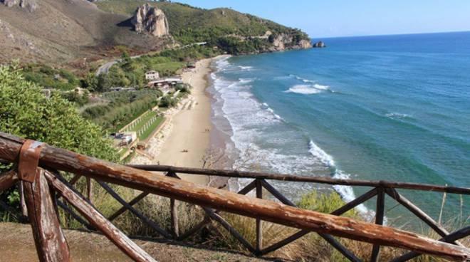 Sperlonga, litorale di Bazzano