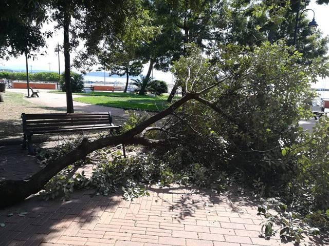 Formia, scoppia la polemica sulla tragedia sfiorata in Villa