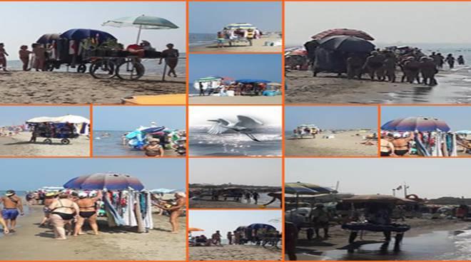 Commercio abusivo Spiagge Ardea_2018_08_11