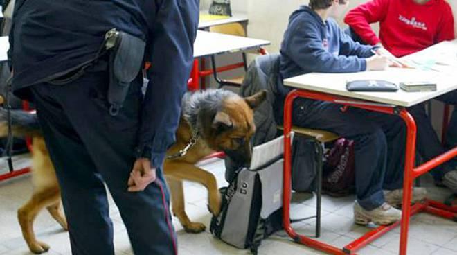 spaccio di droga a scuola