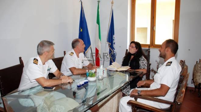 Il Direttore marittimo del Lazio incontra il Sindaco di Formia