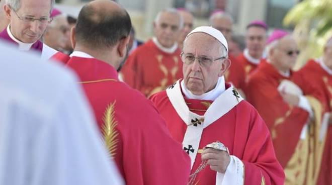 papa francesco palermo messa don pino puglisi