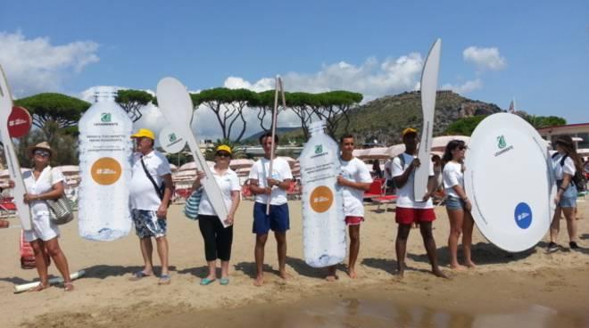 Snorkeling contro le plastiche a Terracina
