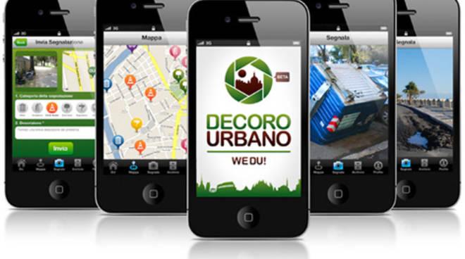 decoro urbano, app