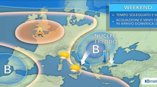 Torna il maltempo in Sicilia, prevista una nuova allerta meteo