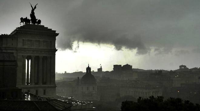 allerta meteo roma pioggia