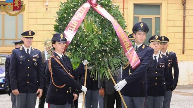 caduti polizia di stato questura di roma