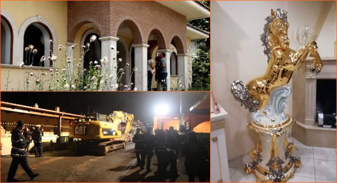 casamonica villa roma