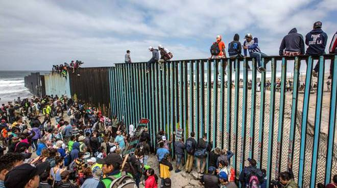 confine usa migranti