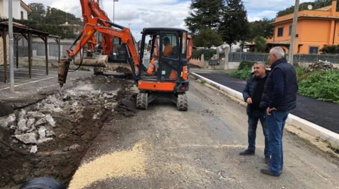 Lavori stradali Fiumicino
