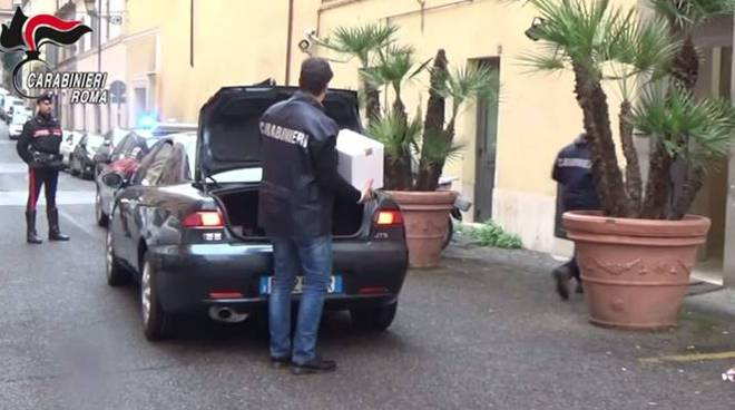 carabinieri roma sequestro di beni