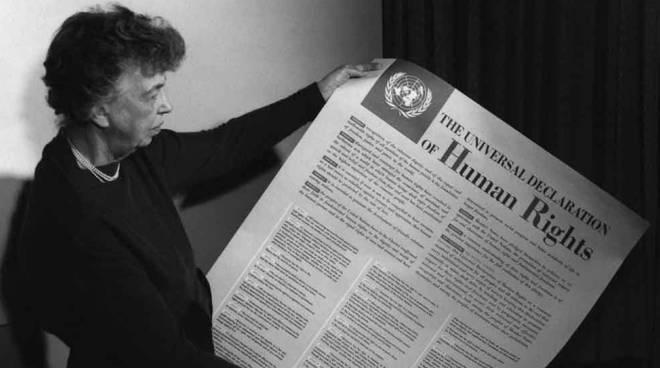 Eleanor Roosevelt - Dichiarazione Universale Diritti Umani