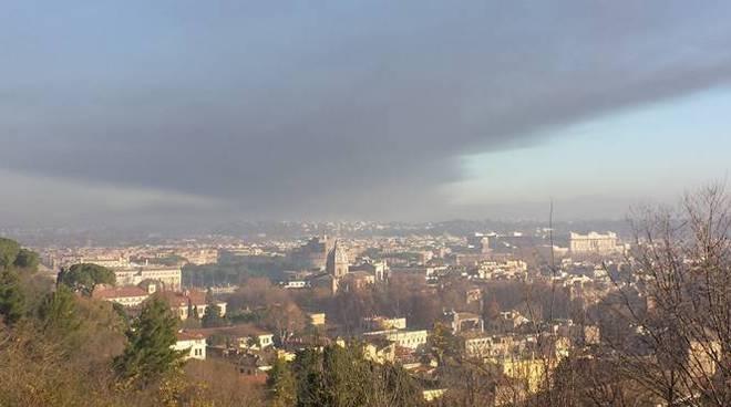 nube tossica tmb via salaria roma