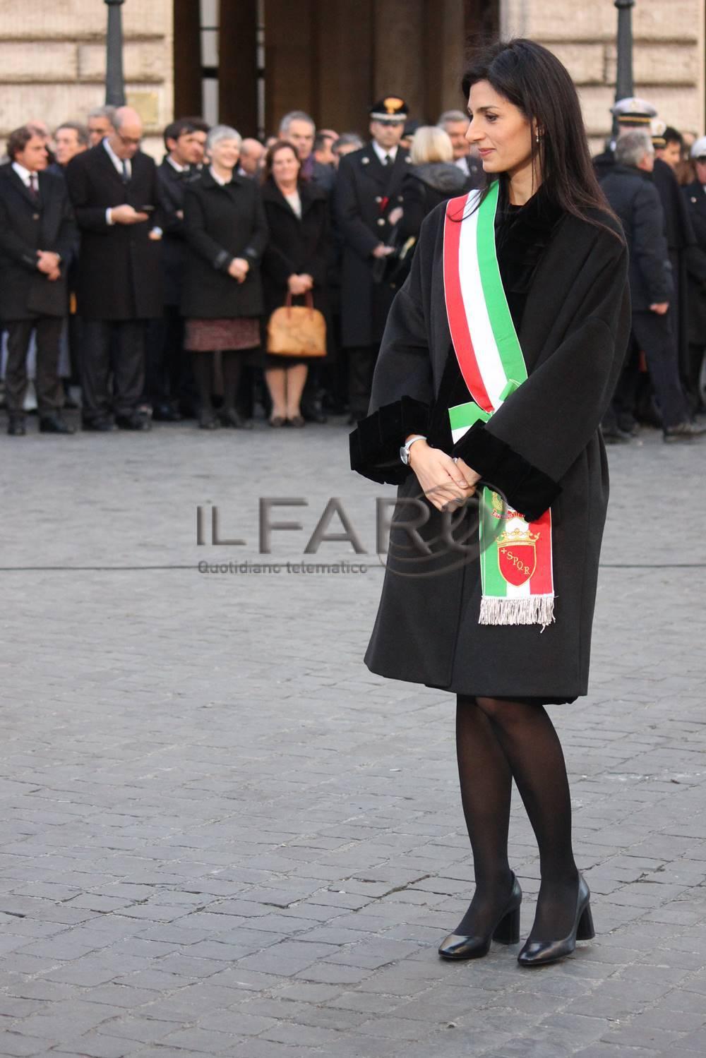 Papa Francesco in Piazza di Spagna per l'Omaggio all'Immacolata