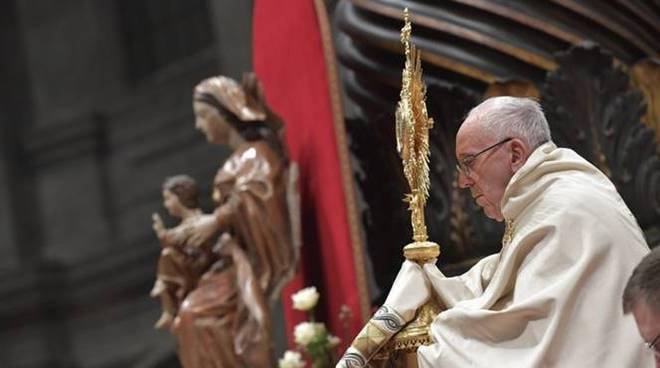 papa francesco te deum