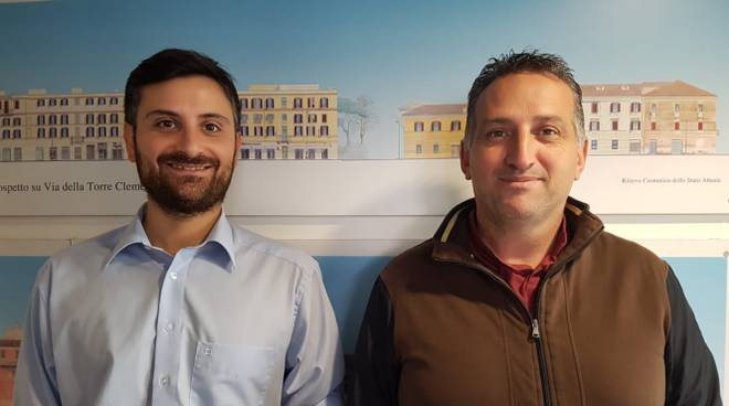 Angelo Petrillo e Massimo Chierchia di lista civica Zingaretti