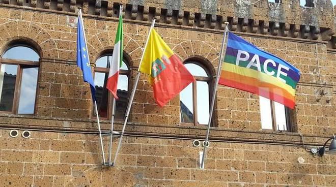 bandiera della pace cerveteri