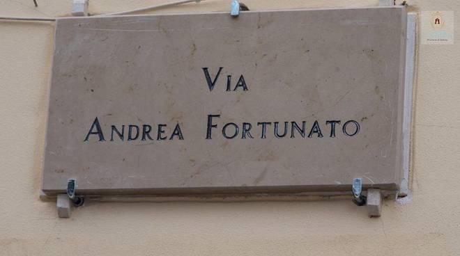 """E' nata Via Andrea Fortunato, Polito: """"In ricordo di un grande ..."""